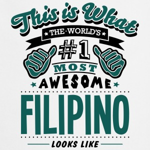 filipino world no1 most awesome - Cooking Apron
