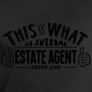 awesome estate agent looks like pro desi t-shirt - Men's Organic Sweatshirt by Stanley & Stella