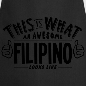 awesome filipino looks like pro design t-shirt - Cooking Apron
