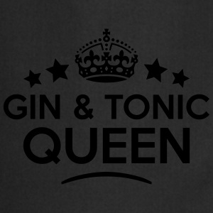 gin  tonic queen keep calm style WOMENS T-SHIRT - Cooking Apron