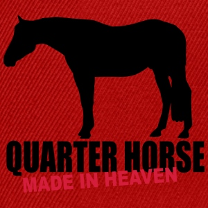 Quarter Horse - Made in heaven Felpe - Snapback Cap