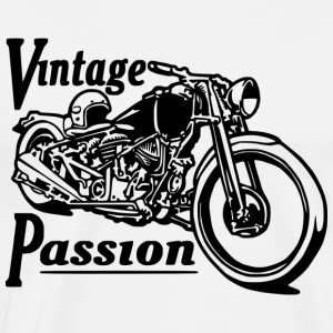 Vintage passion ML - T-shirt Premium Homme