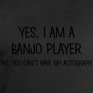 banjo player yes no cant have autograph t-shirt - Men's Organic Sweatshirt by Stanley & Stella