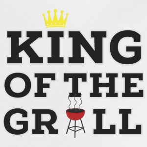King of the grill Baby Lätzchen - Baby T-Shirt