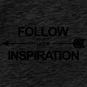 Follow Your Inspiration Casquettes et bonnets - T-shirt Premium Homme