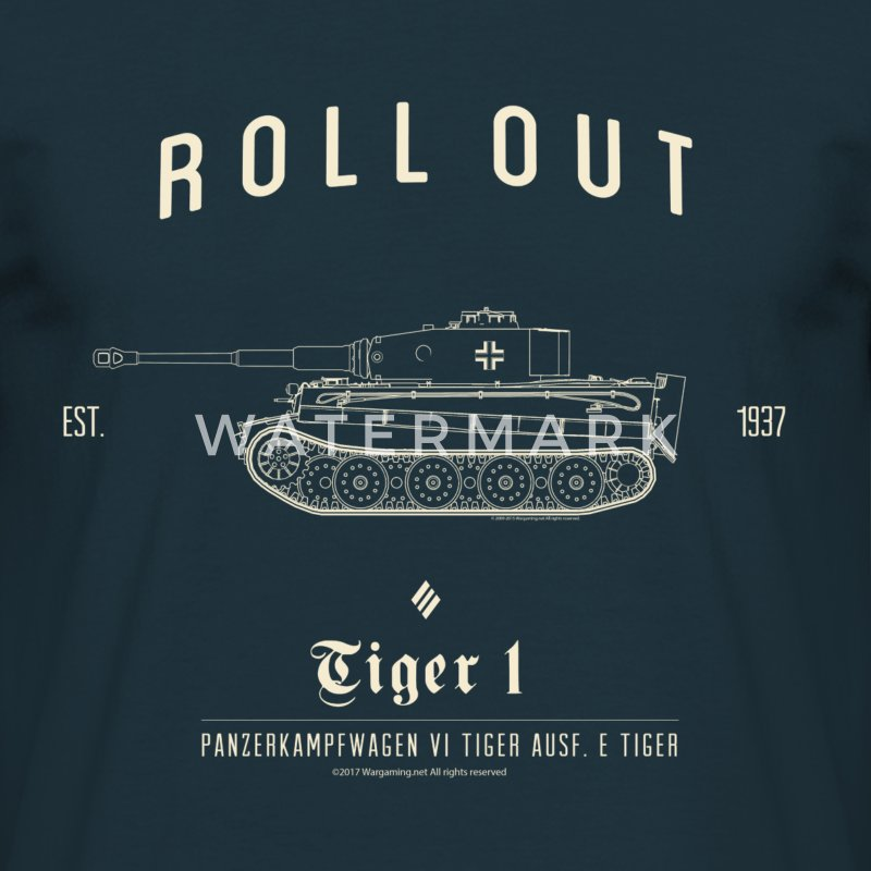 World of Tanks Roll Out Tiger Männer T-Shirt - Männer T-Shirt