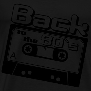Back to the 80`s Sportbekleidung - Männer Premium T-Shirt