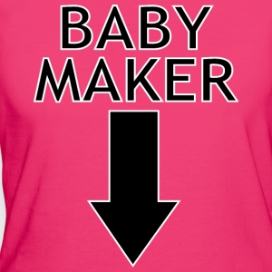 baby maker Tops - Women's Organic T-shirt