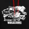 World of Tanks Battlefield Men Hoodie - Contrast Colour Hoodie