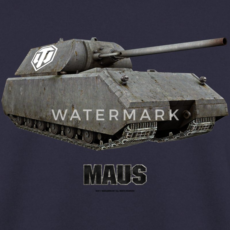 World of Tanks Maus Men Sweater - Men's Sweatshirt