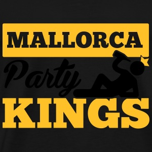 MALLORCA PARTY KINGS Sportbekleidung - Männer Premium T-Shirt