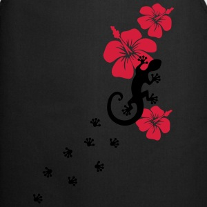 Gecko, Lizard, flower, surf, aloha, sports, wave,  Tee shirts - Tablier de cuisine