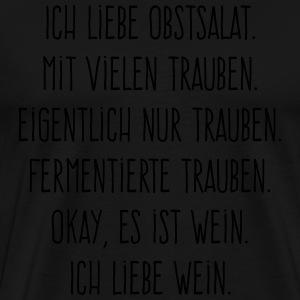 suchbegriff 39 wein spr che 39 t shirts online bestellen spreadshirt. Black Bedroom Furniture Sets. Home Design Ideas