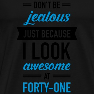 Awesome At Forty-One Tops - Men's Premium T-Shirt