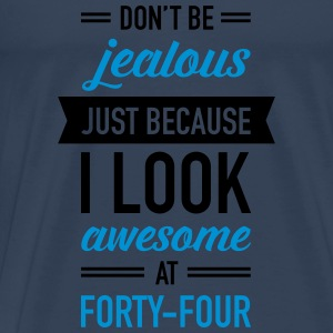 Awesome At Forty-Four Tops - Men's Premium T-Shirt