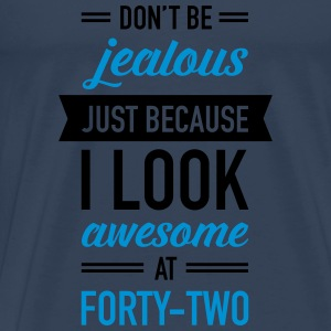 Awesome At Forty-Two Tops - Men's Premium T-Shirt
