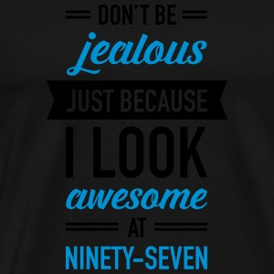 Awesome At Ninety-Seven Sports wear - Men's Premium T-Shirt
