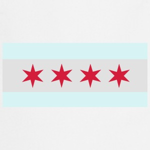 Flag of Chicago T-Shirts - Cooking Apron