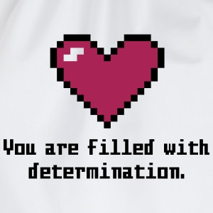 determination T-Shirts - Drawstring Bag