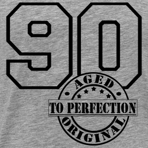 90 Aged to Perfection Langarmshirts - Männer Premium T-Shirt
