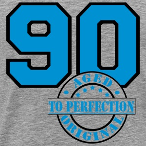 90 Aged to Perfection Far Langarmshirts - Männer Premium T-Shirt