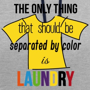 laundry separated color T-Shirts - Kontrast-Hoodie