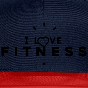 Sweat-shirt Femme Stanley & Stella i love fitness - Casquette snapback