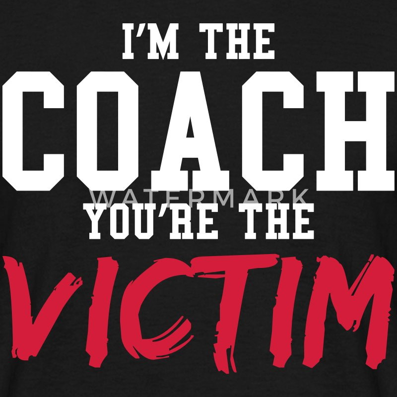COACH VICTIM - T-shirt Homme