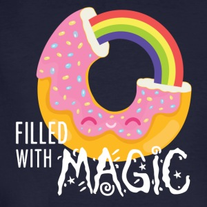 Filled with magic - Männer Bio-T-Shirt