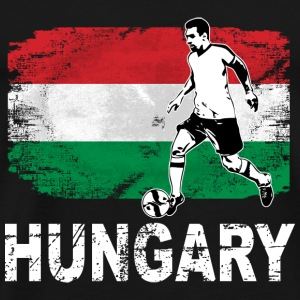 Soccer - Fußball - Hungary Flag Sports wear - Men's Premium T-Shirt