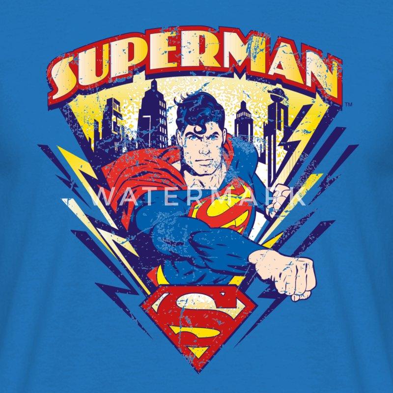 t shirt superman 39 vintage 39 tee shirt femme spreadshirt. Black Bedroom Furniture Sets. Home Design Ideas