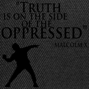 Truth is on the Side of the Oppressed - Snapback Cap