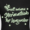 Sternenstaub Unicorn T-Shirts - Frauen T-Shirt