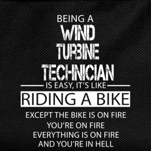 Wind Turbine Technician T-Shirts - Kids' Backpack