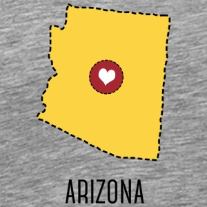 Arizona State Herz Sports wear - Men's Premium T-Shirt
