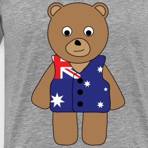 Aussie Bear tank - Men's Premium T-Shirt