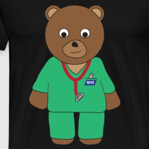 Doctor Bear tank - Men's Premium T-Shirt