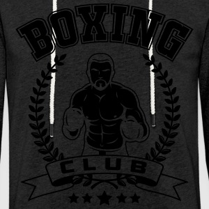 boxing club T-Shirts - Light Unisex Sweatshirt Hoodie