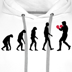 evolution boxing T-Shirts - Men's Premium Hoodie