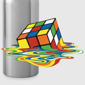 Rubik's Melting Cube - Water Bottle