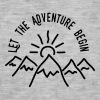 AD Let the Adventure Begin Tassen & rugzakken - Mannen Vintage T-shirt