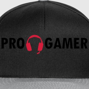 Pro Gamer Headset Tee shirts - Casquette snapback