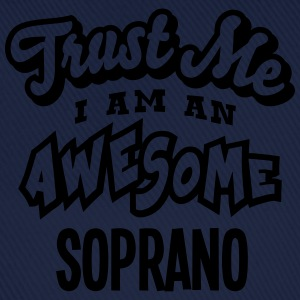 soprano trust me i am an awesome - Casquette classique