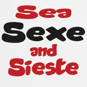 Sea sexe and sieste Tee shirts - Tablier de cuisine