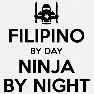 filipino day ninja by night - Cooking Apron