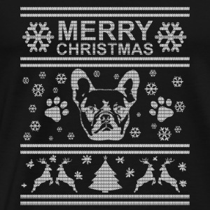 FRENCH BULLDOG CHRISTMAS EDITION Sports wear - Men's Premium T-Shirt
