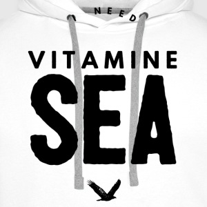 I NEED VITAMINE SEA T-skjorter - Premium hettegenser for menn
