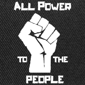 ALL POWER TO THE PEOPLE T-shirts - Snapbackkeps