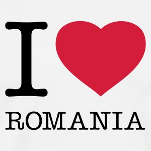 I LOVE ROMANIA - Men's Premium T-Shirt