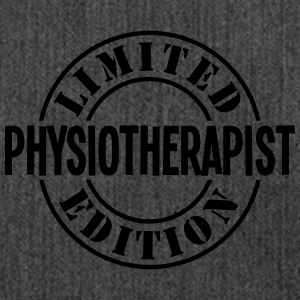 physiotherapist limited edition stamp co - Shoulder Bag made from recycled material